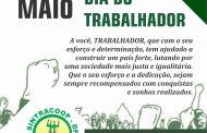 FELIZ DIA DO TRABALHADOR!